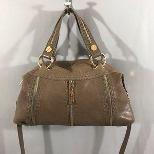 Michael Kors Zipper Detail Shoulder Bag